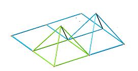 Montaggio secondo tetraedro