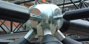 Nodi sferici per strutture reticolari spaziali